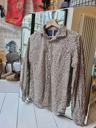 Bellerose Giraffe print shirt