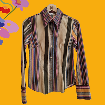 70s colorful shirt