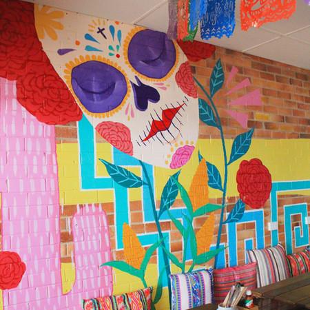 Tres Salsa mural (2018)