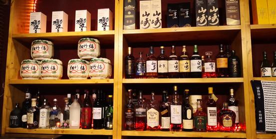 Sake & Whiskey