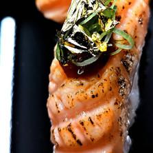 Gold on Salmon