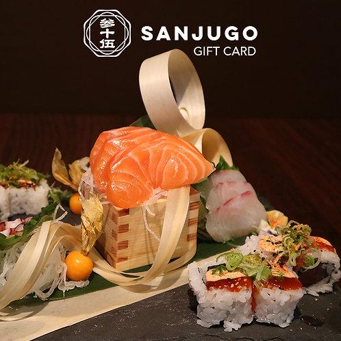 Sanjugo Gift Card