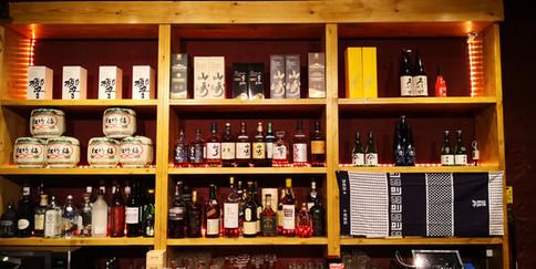 Sake and Whiskey