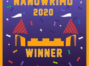 J'ai réussi le NaNoWriMo 2020 !!!