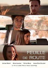 Affiche Feuille de route Court-métrage