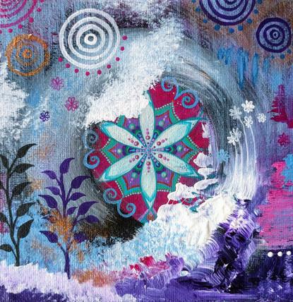 Abstract Bliss Mandala