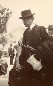 Jug bought by Emery Walker in Toledo, Spain, 1911