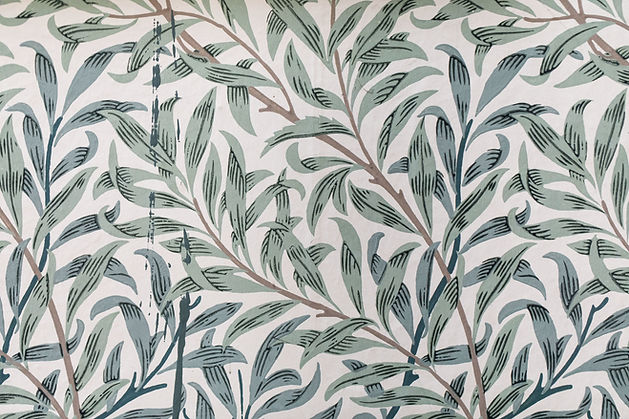 Emery Walkers House 7 Hammersmith Terrace willow wallpaper