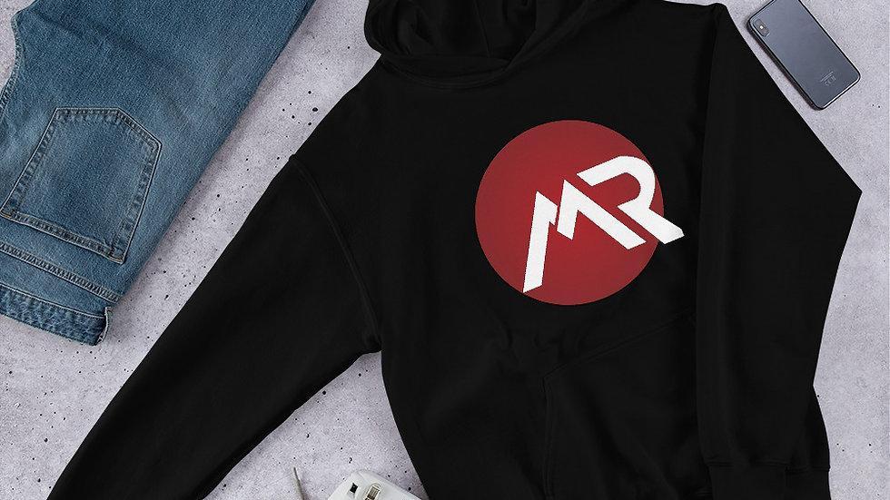 MR Logo Red Unisex Hoodie