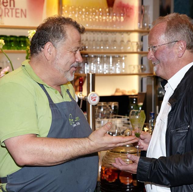 """Die Verleihung der """"Grünen Küche"""""""