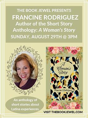 Author Reading Francine Rodriguez.jpg