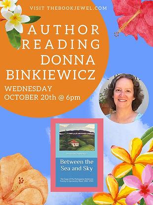 DONNA BINKIEWICZ Author Reading.jpg
