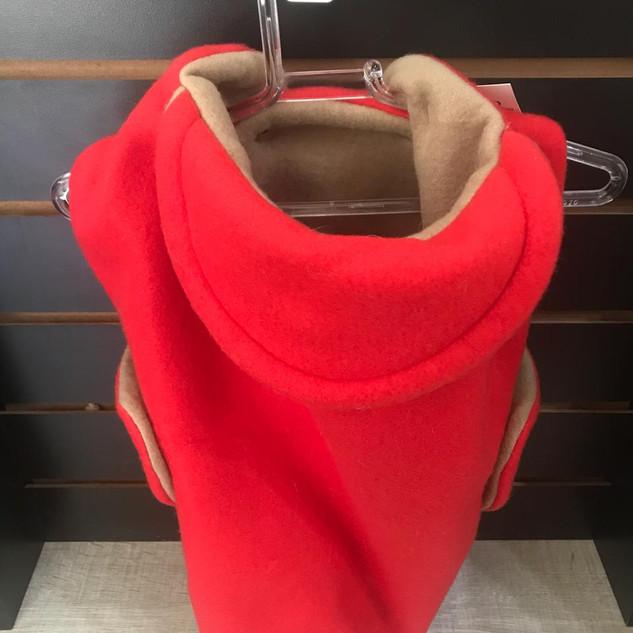 7 Casaquinho Vermelho