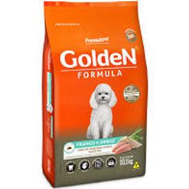 Ração Golden Fórmula para Cães Adultos de Pequeno Porte Sabor Frango 15Kg