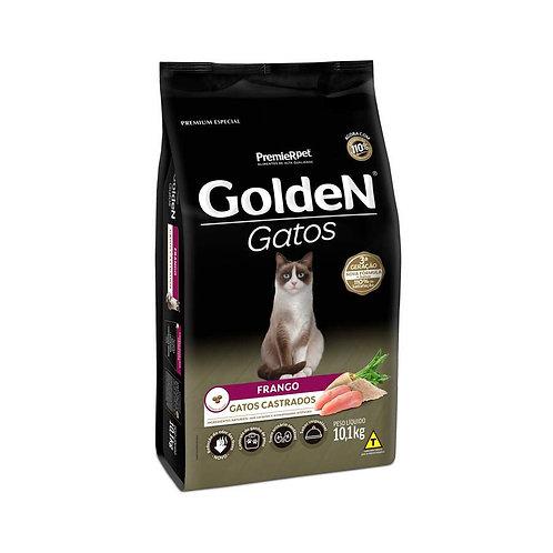 Ração Golden para Gatos Adultos Castrados Sabor Frango - 10 Kg