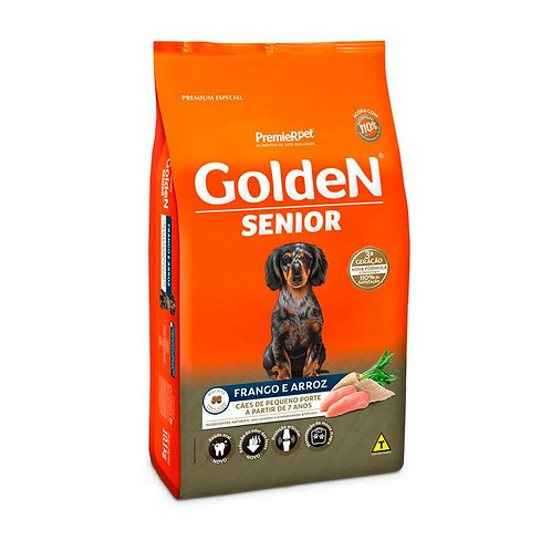 Ração Golden Fórmula Senior para Cães Adultos de Pequeno Porte Sabor Frango 3 Kg