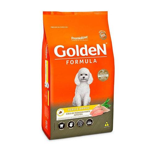 Ração Fórmula Golden para Cães Adultos de Porte Pequeno sabor Peru e Arroz 10 Kg