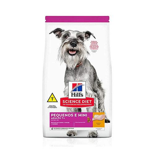Ração Hill's Science Diet para Cães Adulto 7+ Pequenos e Mini 2,4Kg