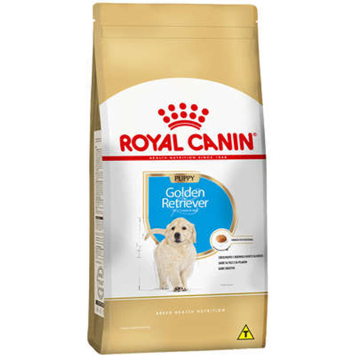 Ração Royal Canin Golden Retriever Filhote - 12 kg