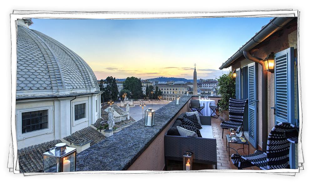 Hotel de Russie Rome Marcellooo.fr Piazza del Popolo