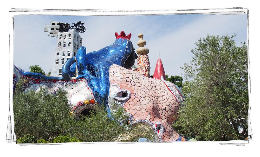 Niki de Saint Phalle-Tuscany Italy