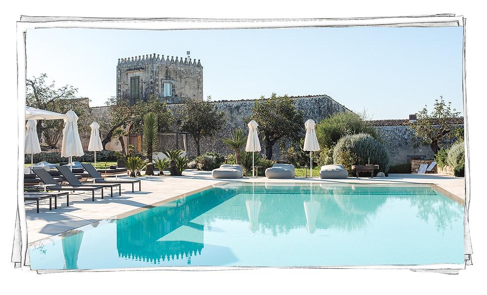 Dimora delle Balze Noto Sicilia piscina