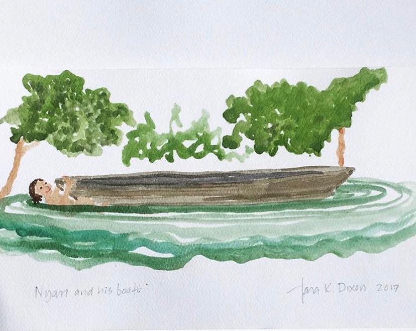 Nyan and His Boat