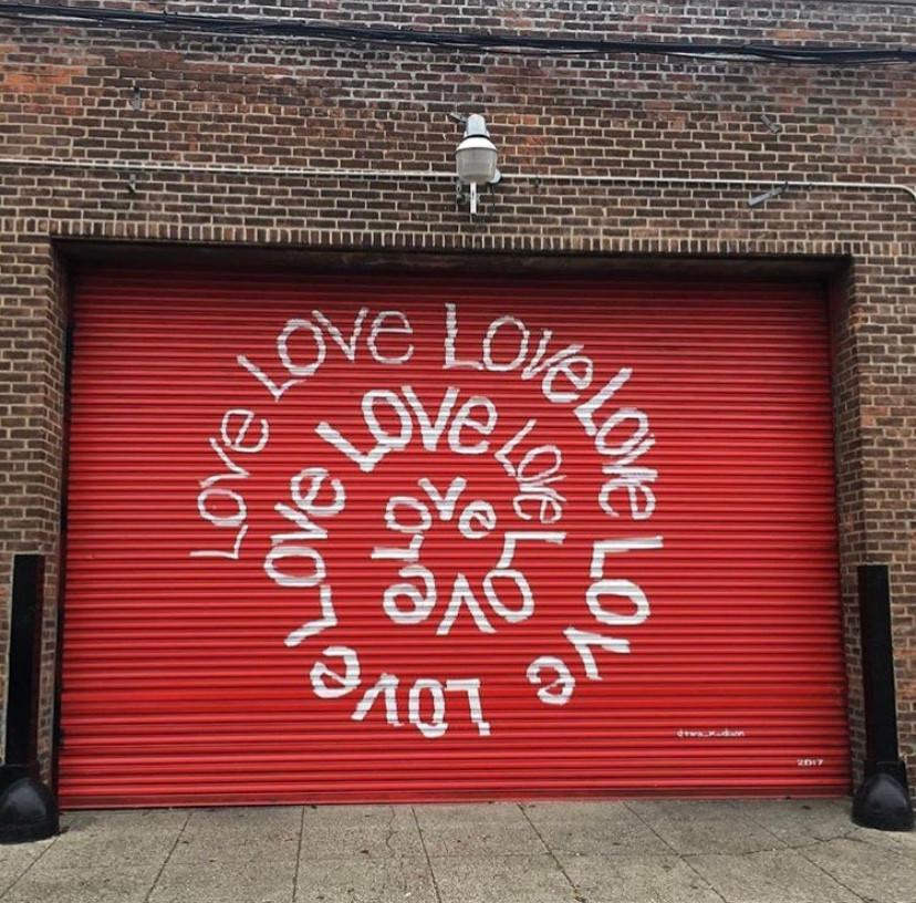 Love Spiral Mural