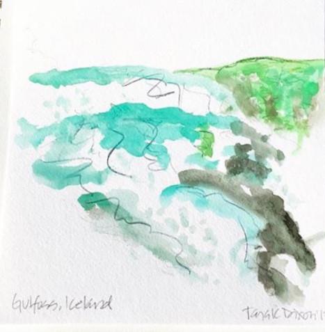 Gulfoss Water Fall, Iceland