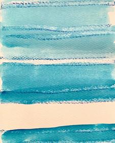 Blue Stripes I