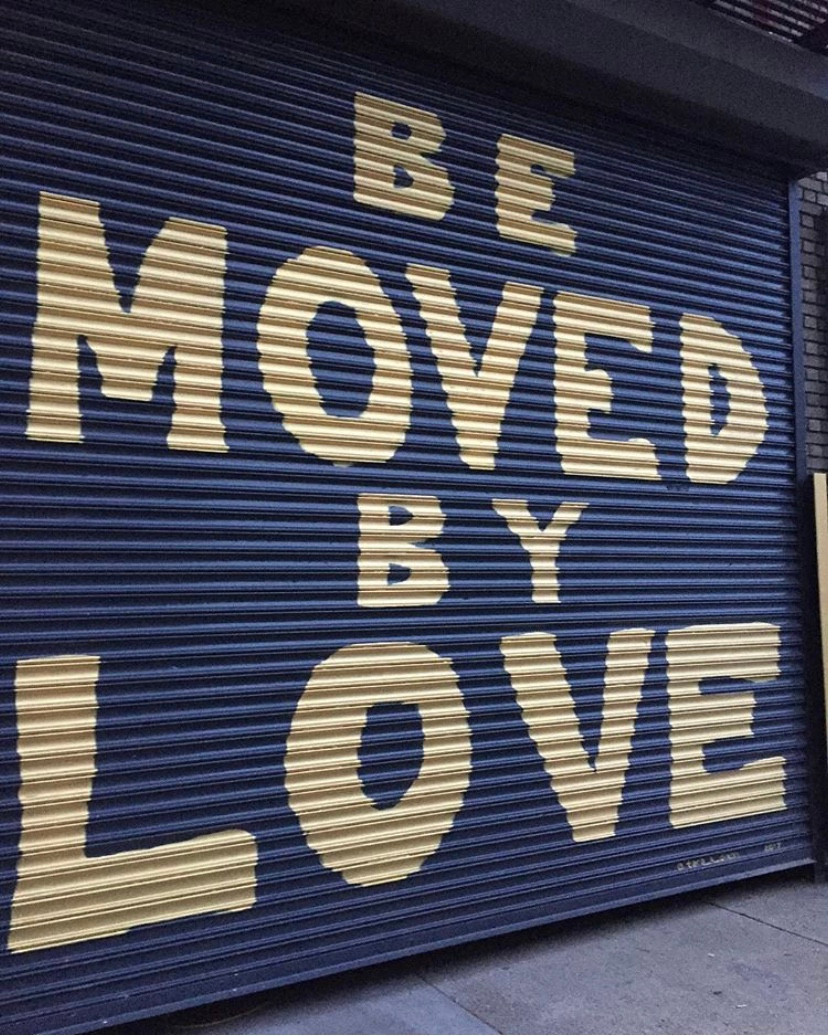 Be Moved By Love