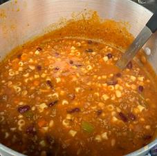 Pasta Fagioli Soup (Gallon) $26