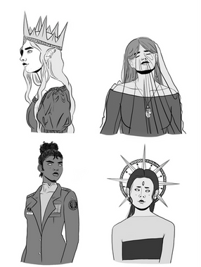 Queens Book-Covers