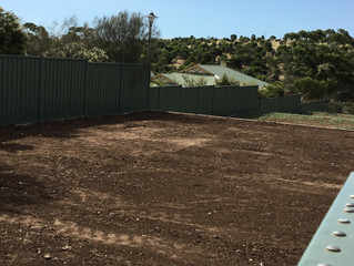 Civil Construction Complete At The Village Green!
