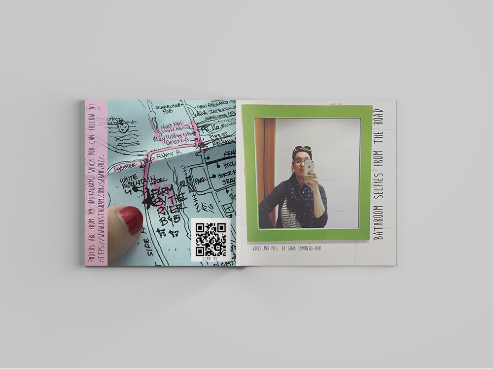 Publication Design: Selfie Zine