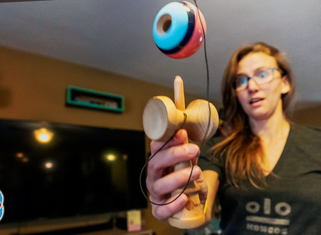 I tried KENDAMA!