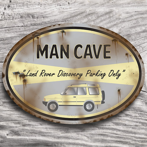 """Personalised 4 x 4 """"Land Rover Discovery"""" Sign"""