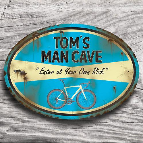 Personalised Racing Bike Sign