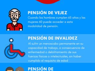 ¿Que tipos de pensión existen?