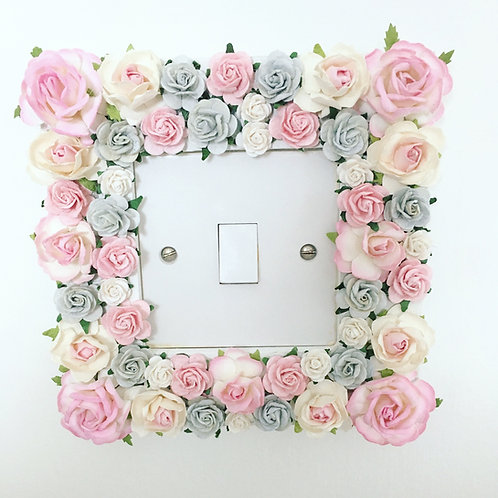 Floral Light Switch Border