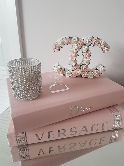 Custom made floral Chanel logo