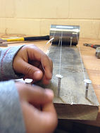 making a musical instrument