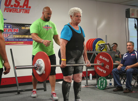 Powerlifting grandma hopes to secure 300 pound deadlift by May