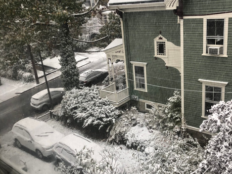 first snow;