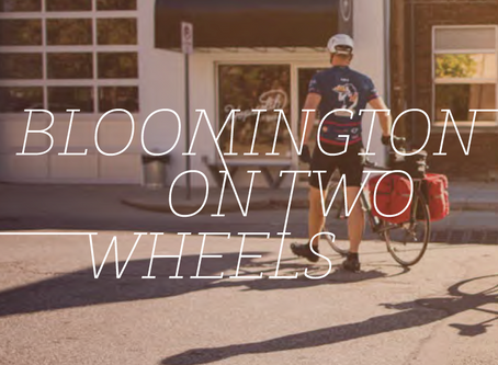 Bloomington on two wheels