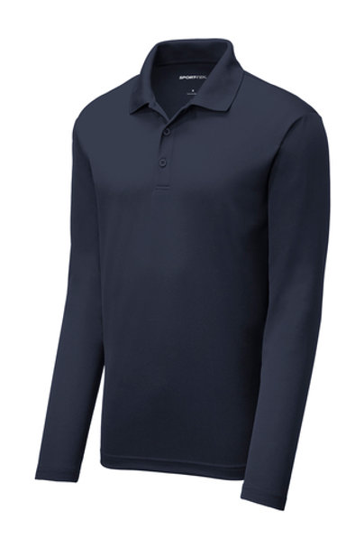 Sport-Tek ® PosiCharge ® RacerMesh ® Long Sleeve Polo