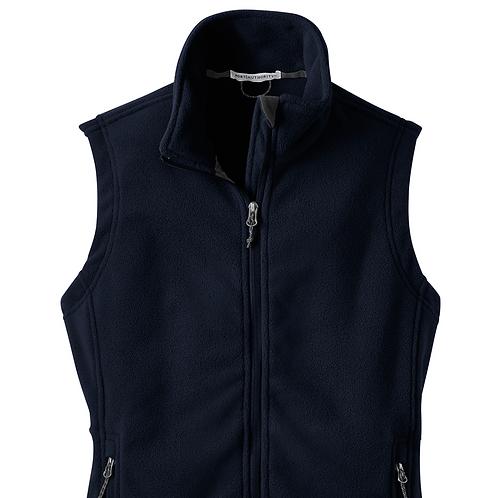 Fleece Vest Navy - Adult
