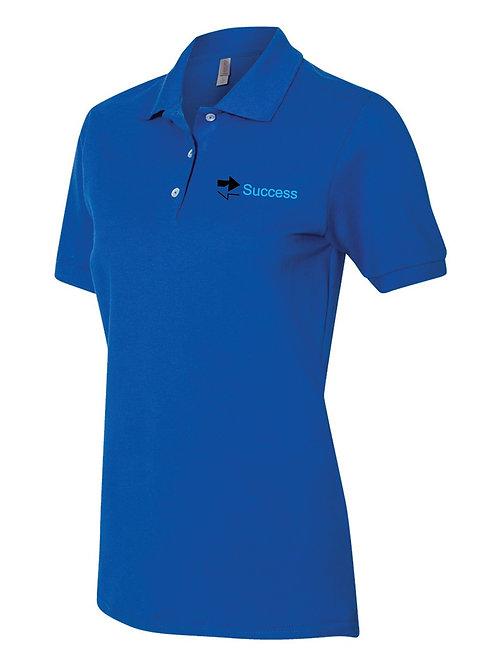 Women's 100% Ringspun Cotton Pique Sport Shirt