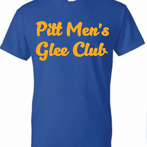 Tee Shirt Short Sleeve Pitt Men's Glee Club