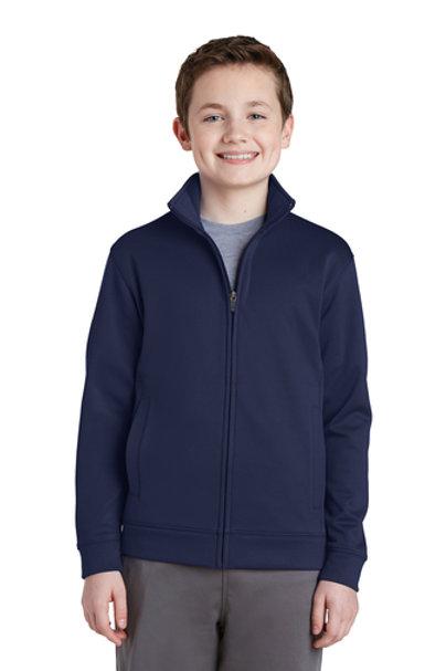 Youth Sport-Wick® Fleece Full-Zip Jacket